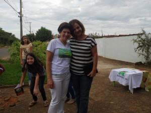 Dra. Silma Assunção e a escritora Deucélia maciel