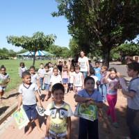 Crianças Escola Maria Inez Nogueira Lemos.
